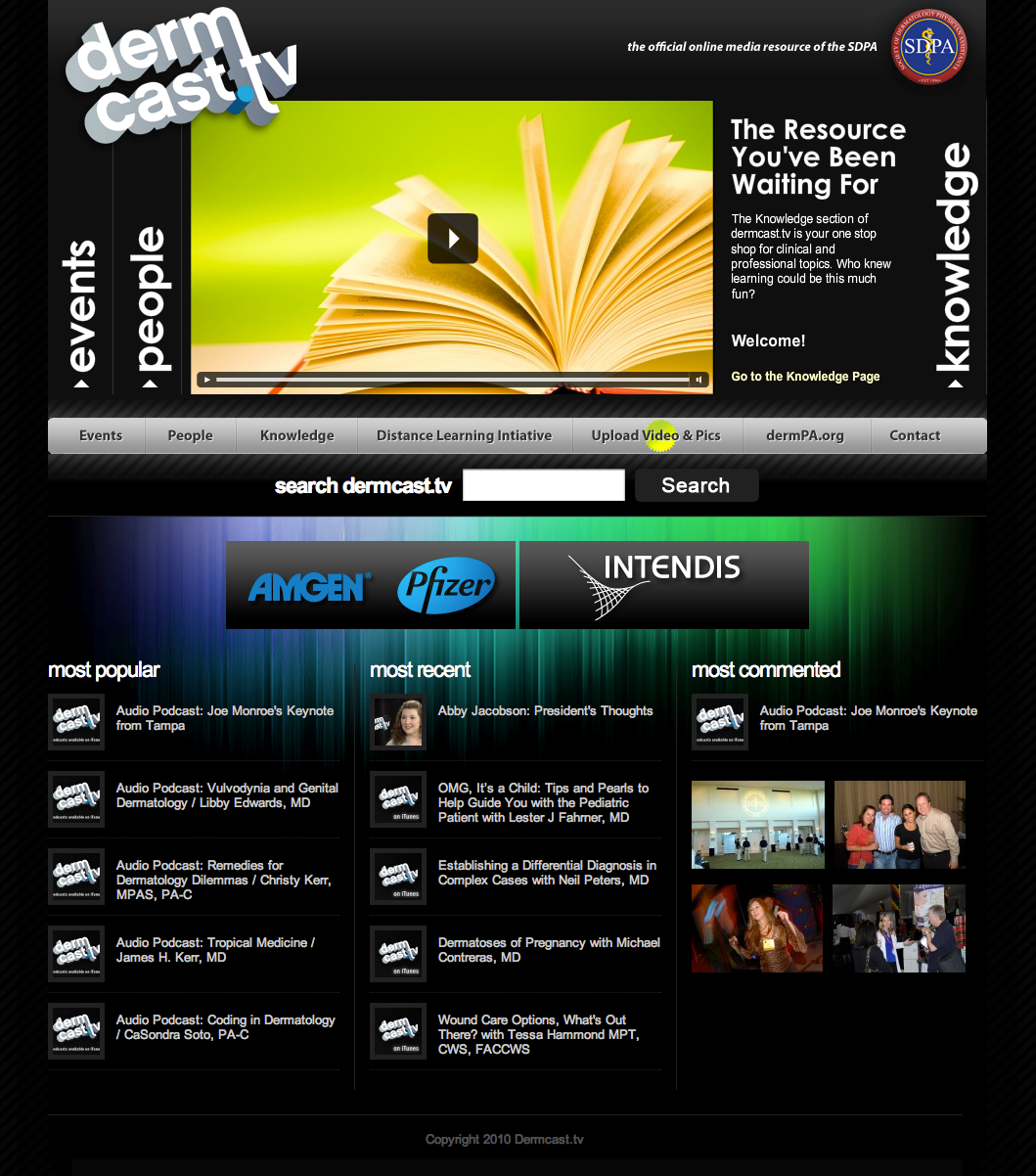 The New Dermcast.tv